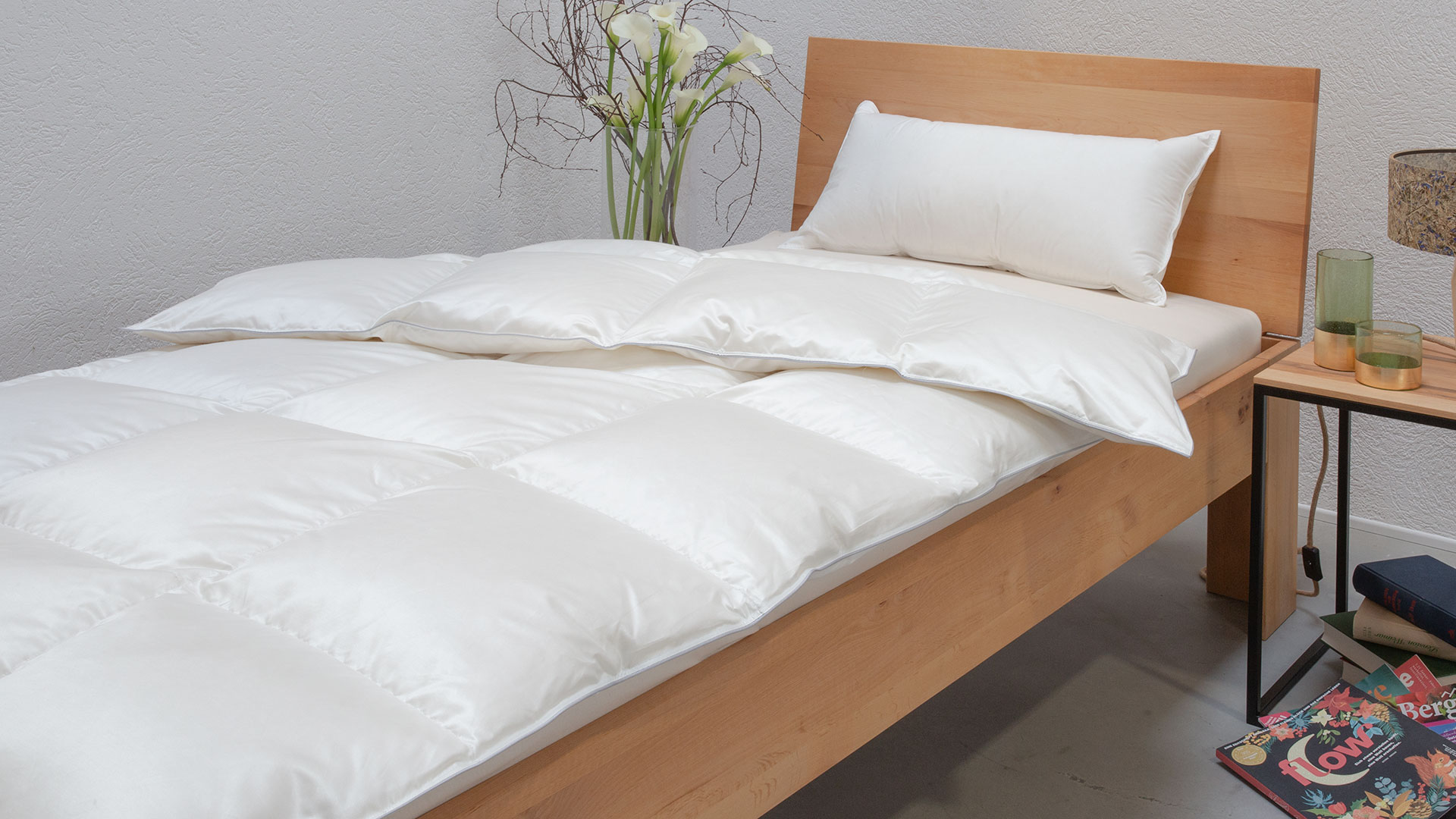 Daunen Ganzjahres Bettdecke Ansara Premium