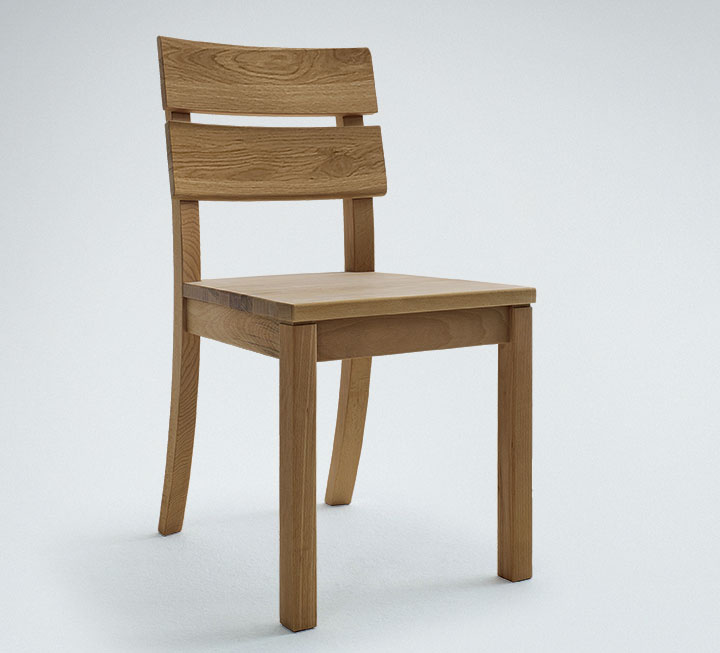 Stühle aus Eiche Wildeiche