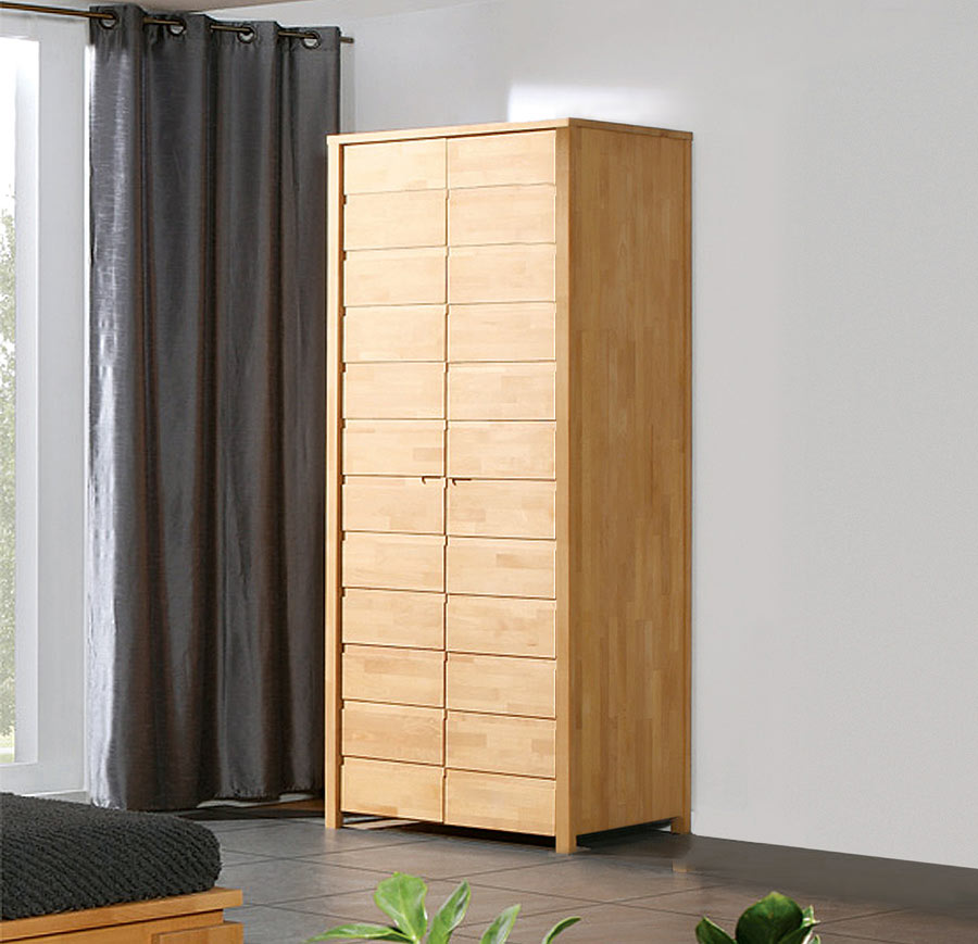 kleiderschrank holz modern. Black Bedroom Furniture Sets. Home Design Ideas