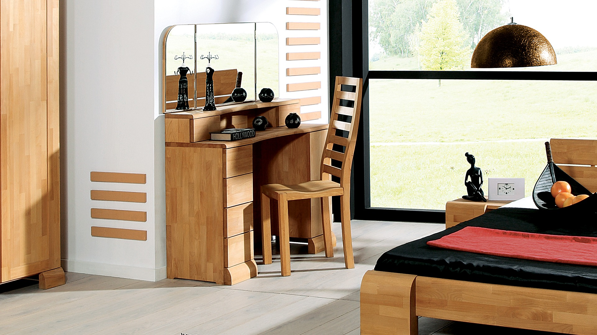 schminktisch arrondo. Black Bedroom Furniture Sets. Home Design Ideas