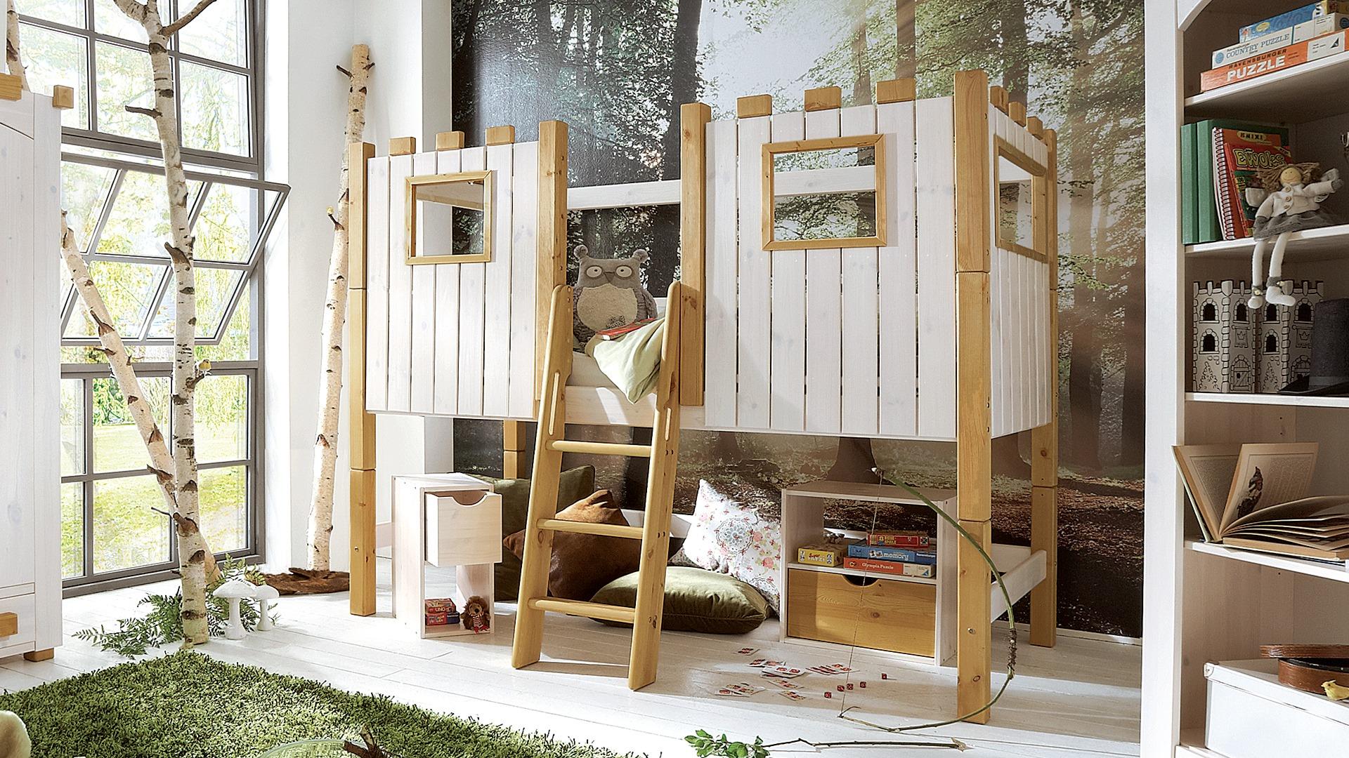 mini hochbett castello. Black Bedroom Furniture Sets. Home Design Ideas