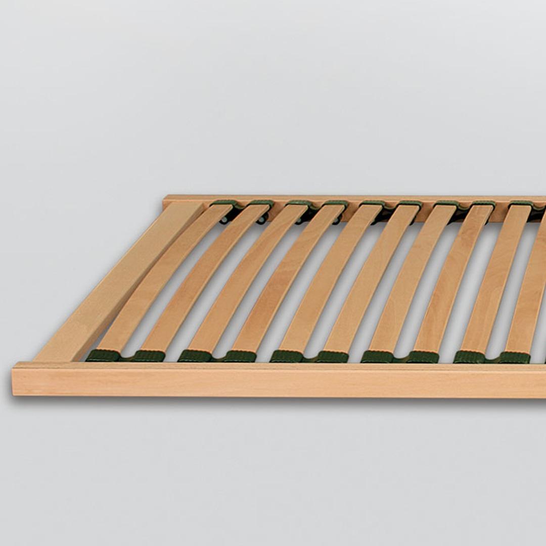 Bio-Lattenrost Standardflex-Flachrahmen (080/200cm)