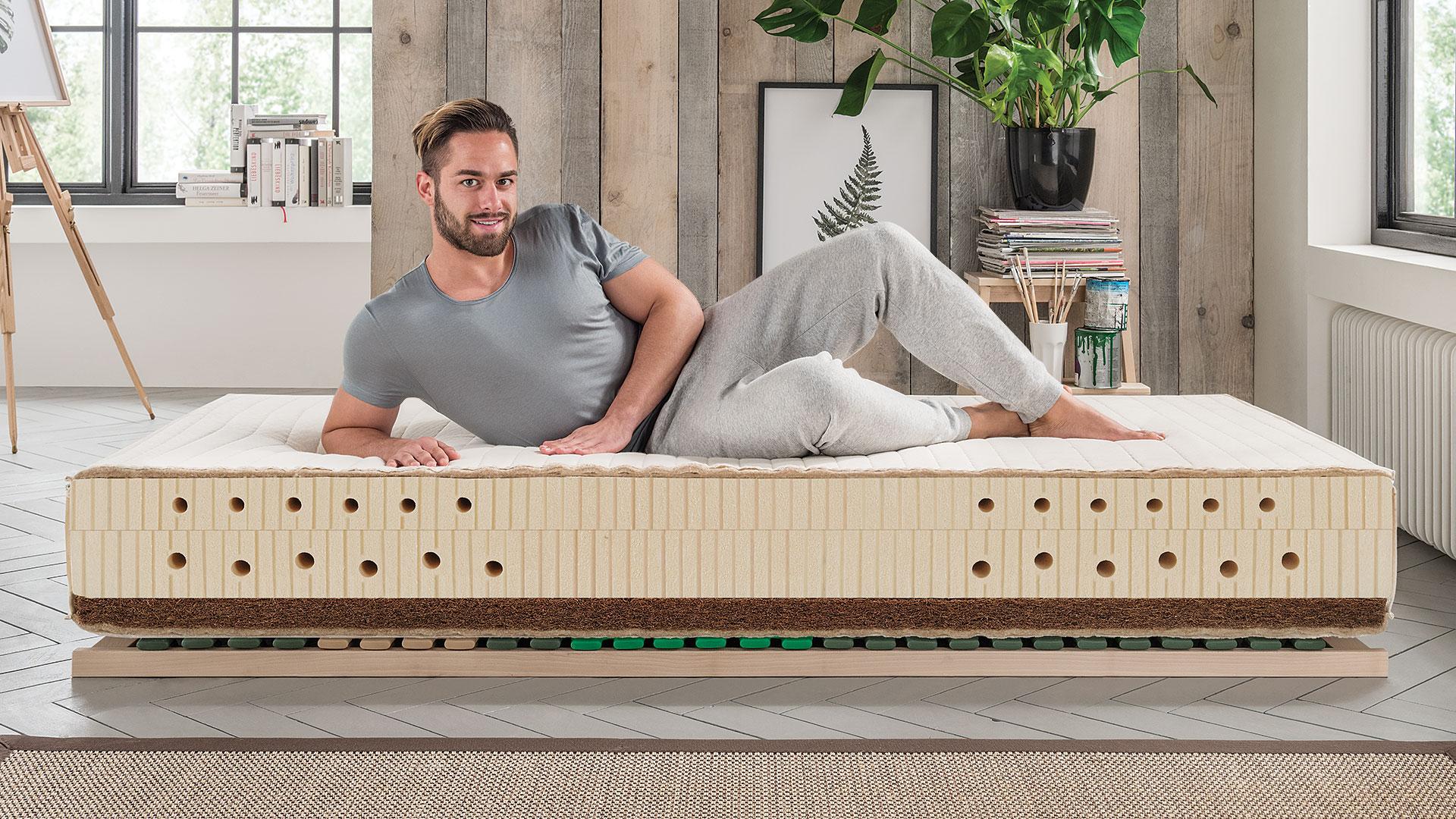 naturlatex matratze sana maxima. Black Bedroom Furniture Sets. Home Design Ideas