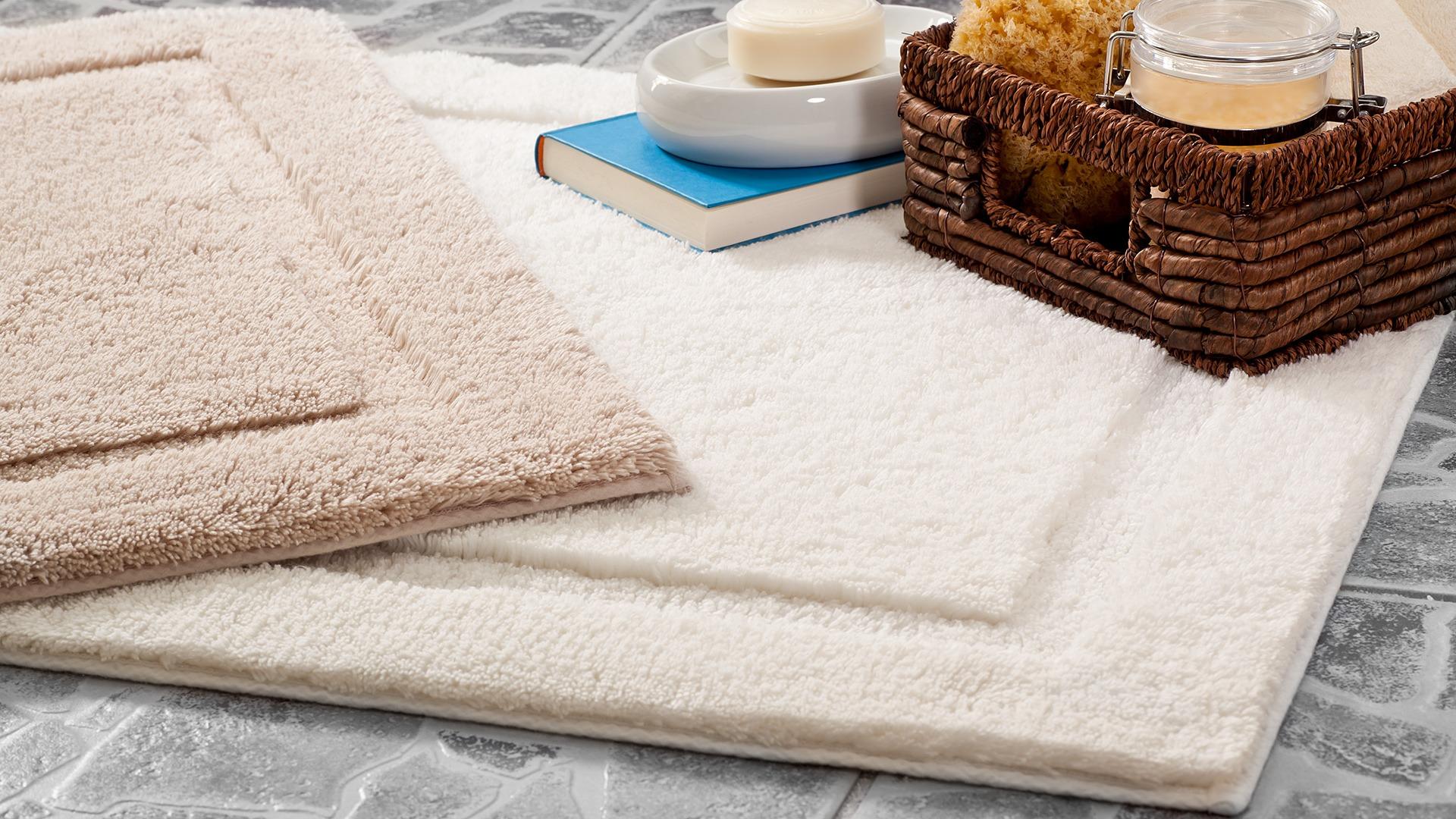Herrlich flauschiger Bad-Teppich