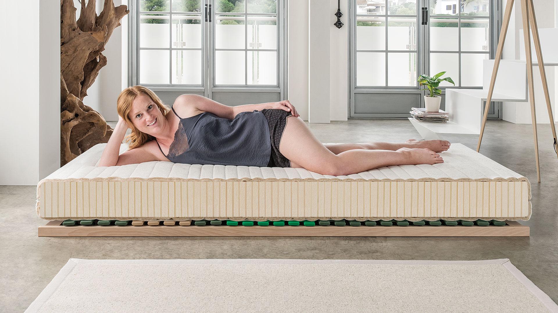 naturlatex matratze sana optima. Black Bedroom Furniture Sets. Home Design Ideas