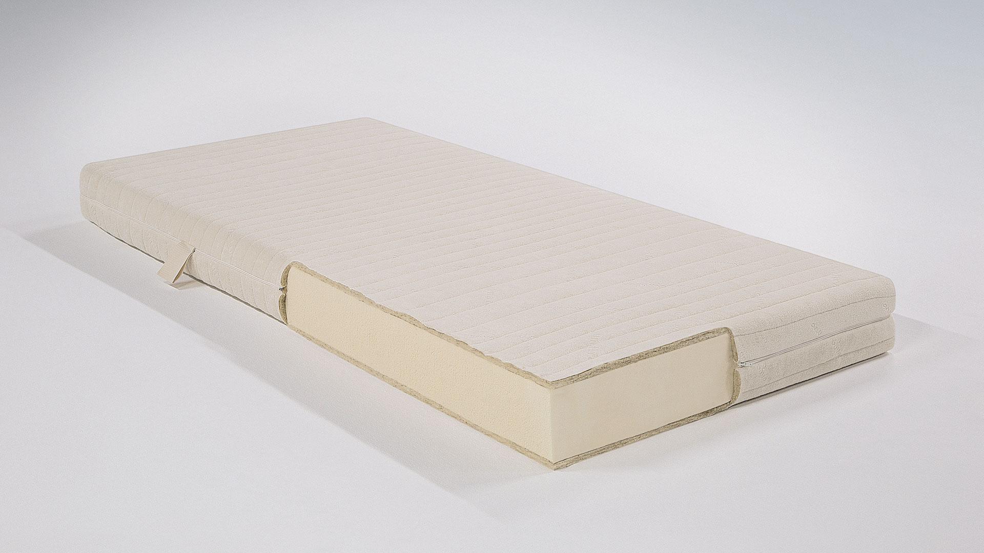 matratzen fr allergiker simple detailbild des kopfteils eines in hellgrau with matratzen fr. Black Bedroom Furniture Sets. Home Design Ideas