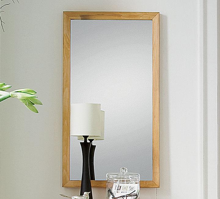 Spiegel mit rahmen aus eiche wildeiche - Spiegel holzrahmen eiche ...