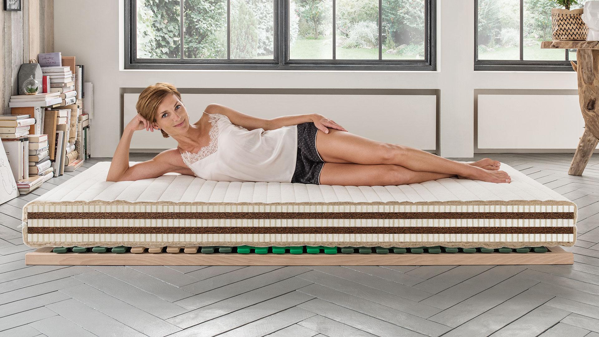 naturlatex kokos matratze vita plus. Black Bedroom Furniture Sets. Home Design Ideas