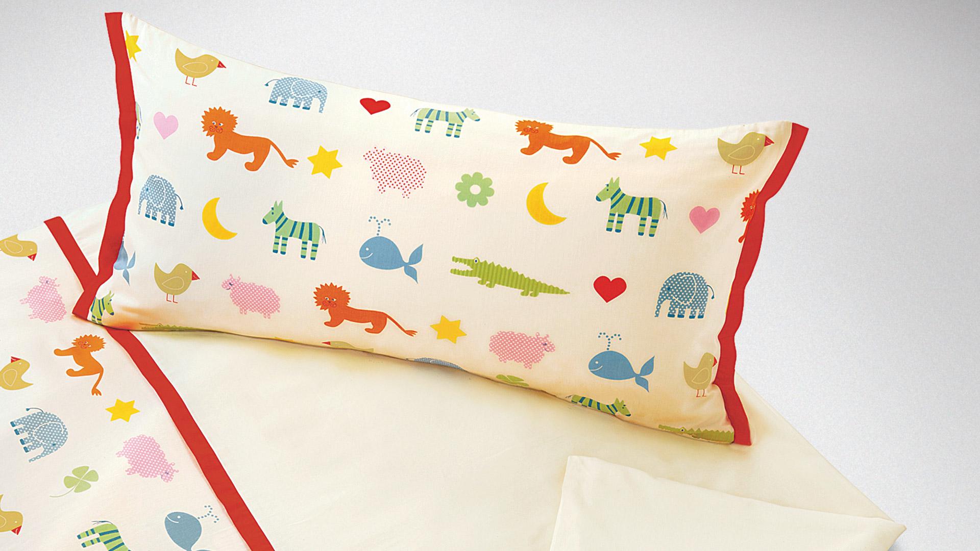 Eitelkeit Kinderbettwäsche Ideen Von Fröhliche Kinder-bettwäsche Mit Lustigen Tiermotiven