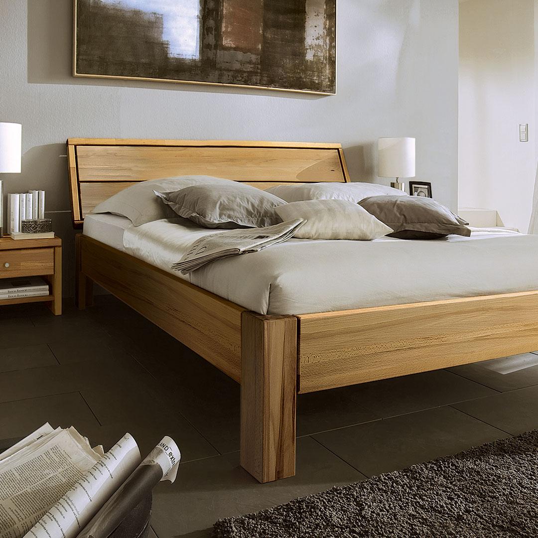 Massivholzbetten online kaufen   Möbel Suchmaschine   ladendirekt.de