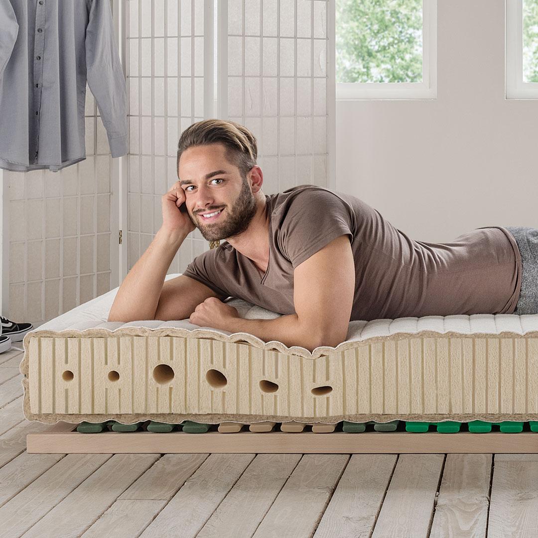 allnatura naturlatex matratze supra comfort bewertung vergleich. Black Bedroom Furniture Sets. Home Design Ideas
