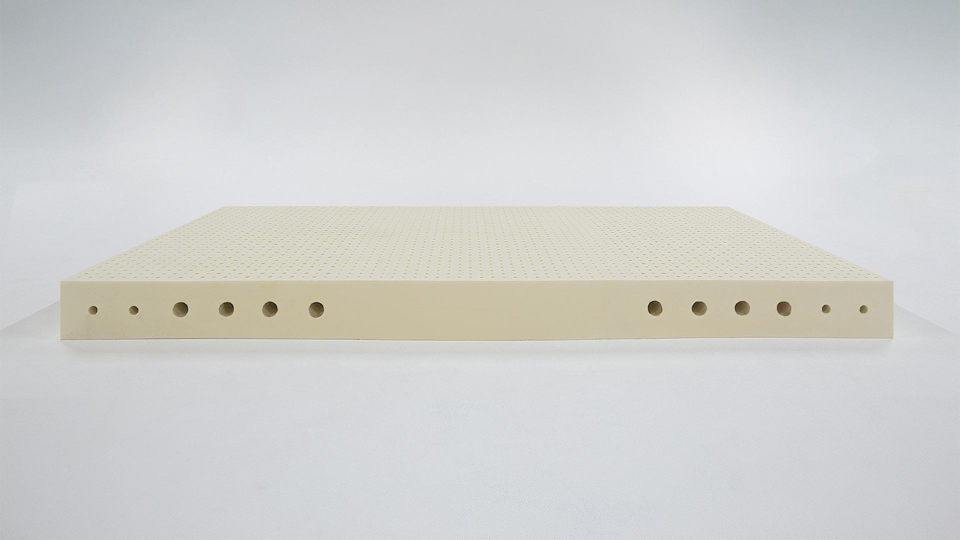 Vorschau Naturlatex Matratze Supra Comfort 7 Zonen Stiftlatex Aus 100
