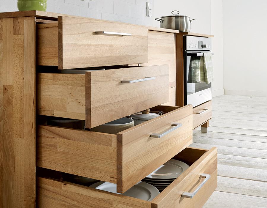 Küchenunterschrank Culinara 100 Massivholz