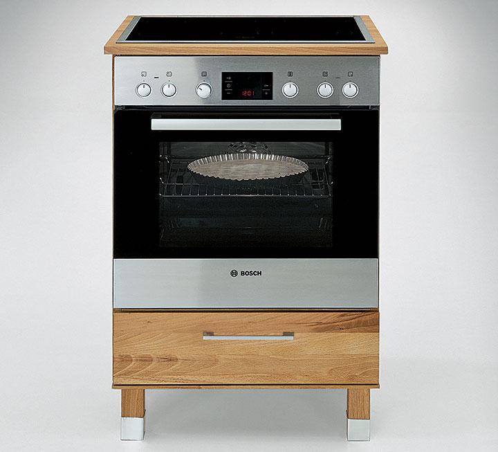 Massivholz Modulküche Culinara Schadstoffgeprüft