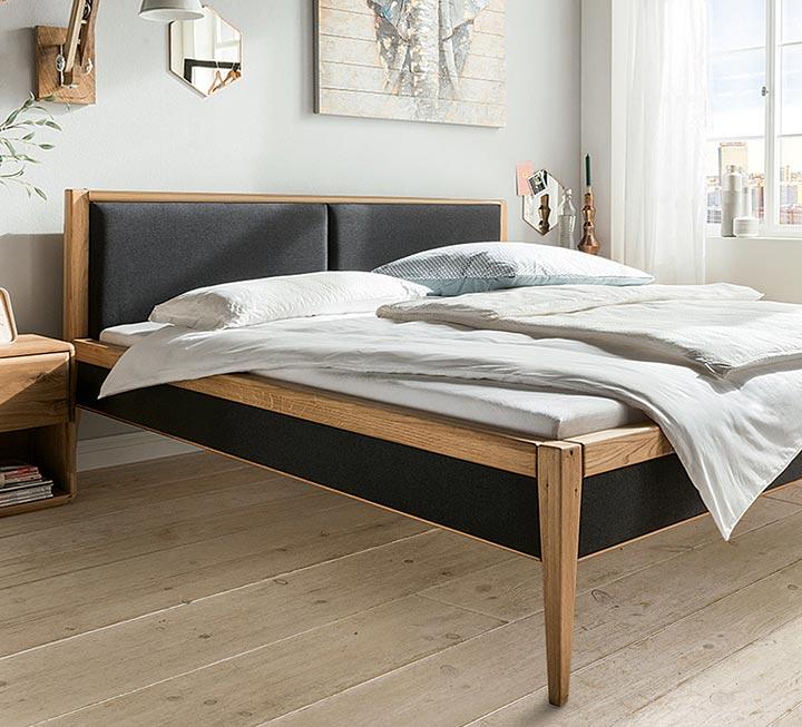Fabelhaft Bett Mit Polsterkopfteil Sammlung Von Bett Dekoration