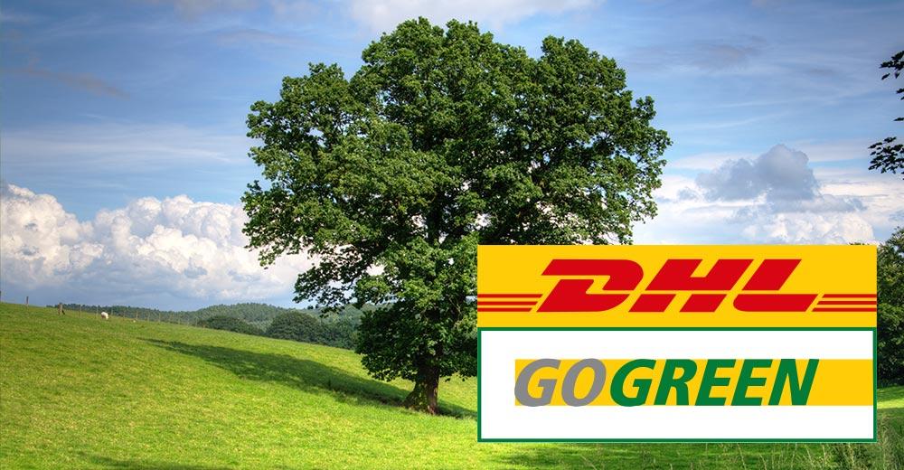 DHL GoGreen klimaneutrale Lieferung