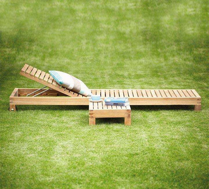 Gartenmöbel-Programm Sunio