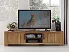 TV-Möbel aus Eiche/Wildeiche