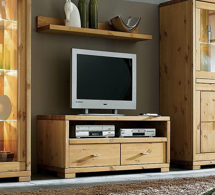 TV-Möbel aus Kiefer