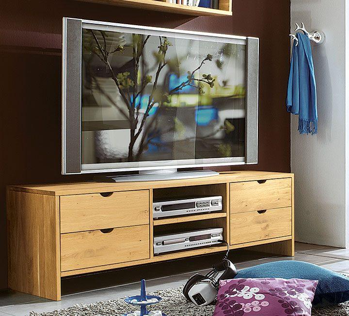 TV-Möbel aus Buche/Kernbuche
