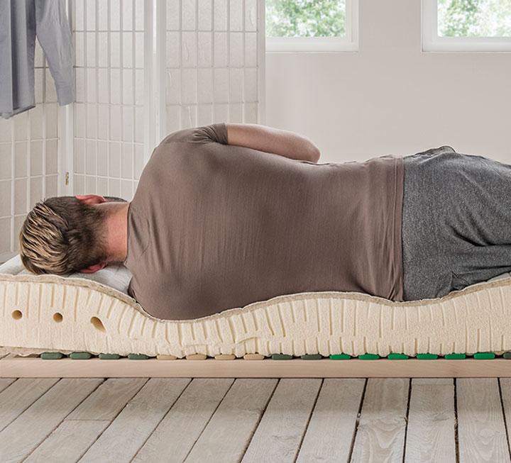 Matratzen bei Wirbelsäulen-Problemen