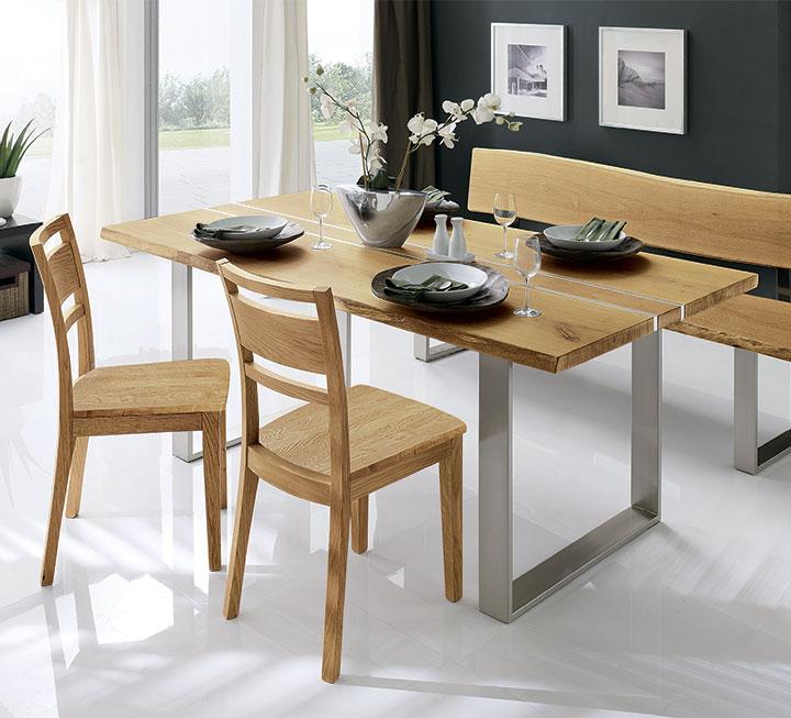 Stühle aus Eiche / Wildeiche