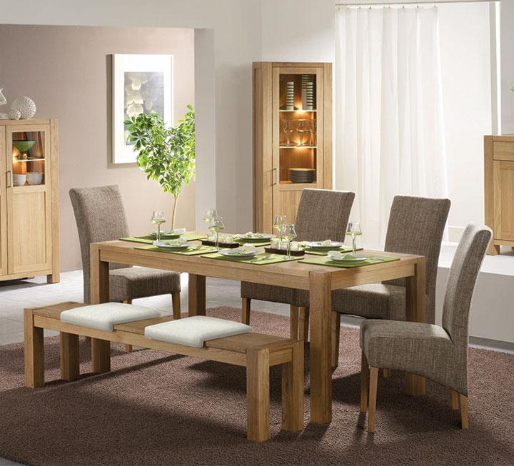 Esszimmermöbel holz  Esszimmer aus Massivholz