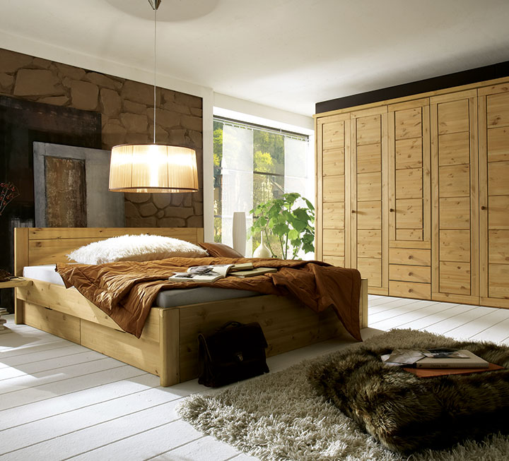 Schlafzimmer-Programme aus Kiefer