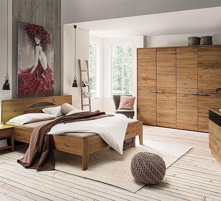 Schlafzimmer-Programme aus Wildeiche