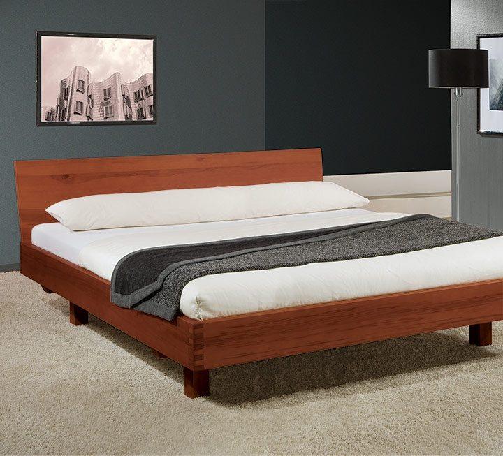 Metallfreie Betten mit farbiger Oberflächen-Behandlung