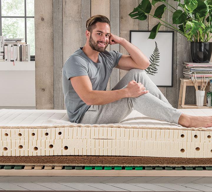 Premium-Matratzen in Komforthöhe