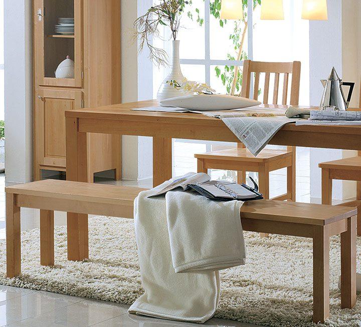Sitzbänke aus Buche / Kernbuche