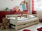 Kinder- & Jugendbetten mit weißer Oberfläche