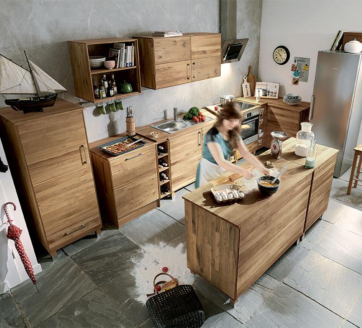Küchen aus Eiche